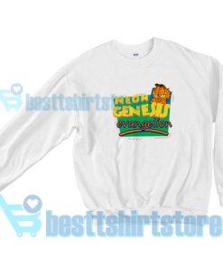 Neon Genesis Evangelio Garfield Sweatshirt