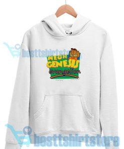 Neon Genesis Evangelio Garfield Hoodie