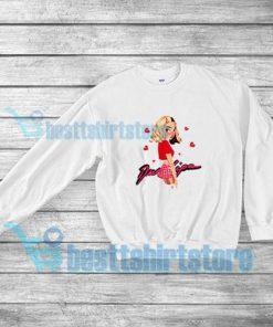 Break My Heart Fanart Sweatshirt