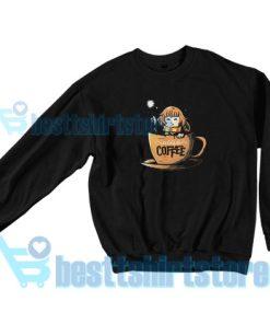 Harry Potter Accio Coffee Sweatshirt For Unisex