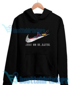 Spider-Man Just Do it Later Hoodie For Unisex