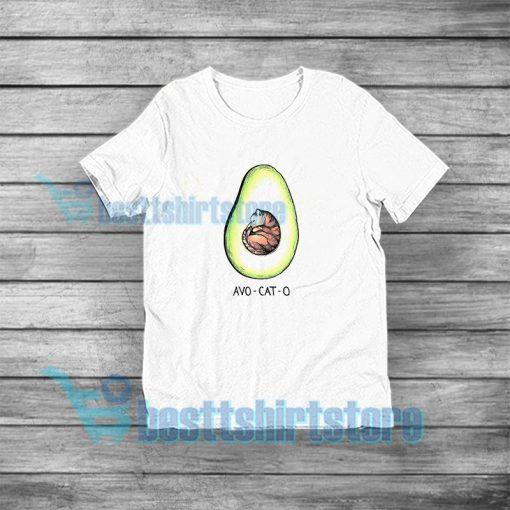 Avo Cat O Cats Avocado T-Shirt