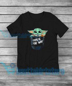 Baby Yoda Merchandise T-Shirt