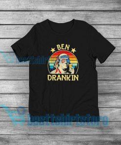 Ben Drankin Party Vintage Usa Poster T-Shirt