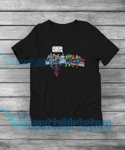 How I Saved The World Jesus The Avengers Shirt 247x296 - HOME
