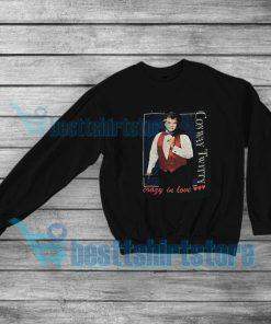 Vintage Conway Twitty Crazy In Love Sweatshirt