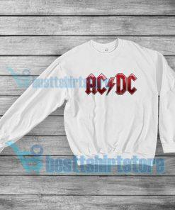 ACDC Band Logo Sweatshirt