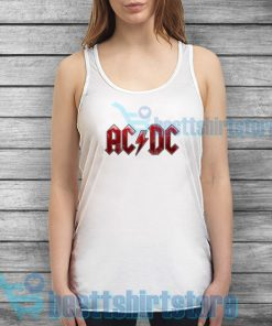 ACDC Band Logo Tank Top