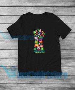 Avengers Infinity War T-Shirt Marvel Merch S-5XL