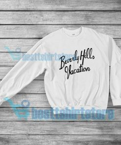 Beverly Hills Vacation Sweatshirt Vintage Mens or Womens S-5XL