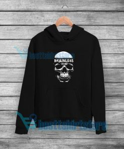 Brainless Skull Graphic Hoodie Eminem Rap S-5XL