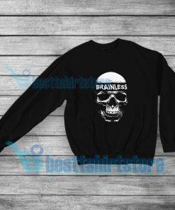 Brainless Skull Graphic Sweatshirt Eminem Rap S-5XL
