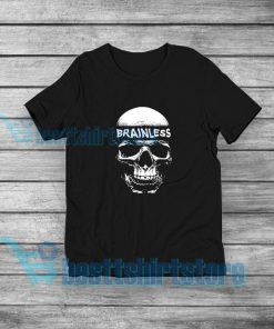Brainless Skull Graphic T-Shirt Eminem Rap S-5XL