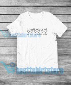 Brendon Urie T-Shirt American Singer S-5XL