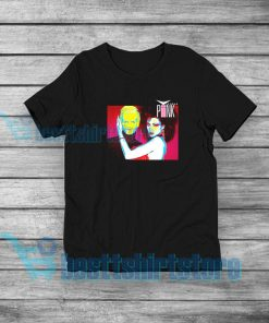 Vicious Pink Album T-Shirt Synth-Pop Duo S-5XL