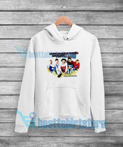 Backstreet Boys Millennium Concert Hoodie Vocal Group S-3XL