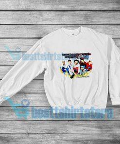 Backstreet Boys Millennium Concert Sweatshirt Vocal Group S-3XL
