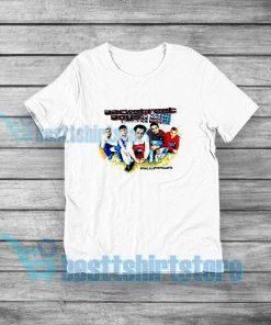 Backstreet Boys Millennium Concert T-Shirt Vocal Group S-3XL