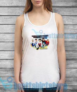 Backstreet Boys Millennium Concert Tank Top Vocal Group S-2XL