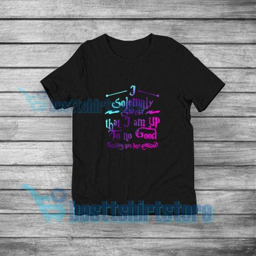 I Solemnly Swear T-Shirt Harry Potter S-3XL