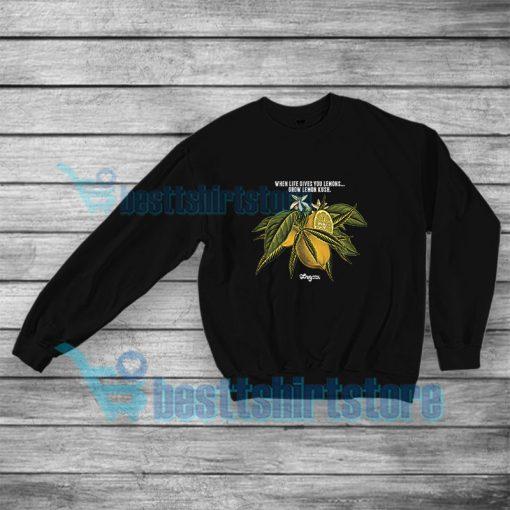 LRG Lemon Kush Sweatshirt When Life Gives You Lemons