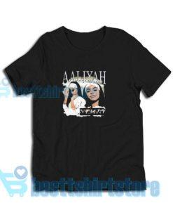 Aaliyah Album Vintage T-Shirt Women and man S-3XL