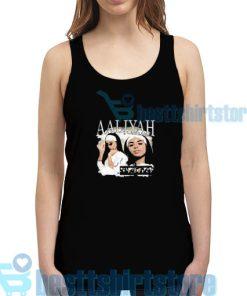 Aaliyah Album Vintage Tank Top Women and men S-2XL