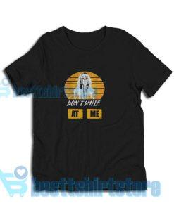 Billie Eilish Album T-Shirt Don't Smile At Me S-3XL
