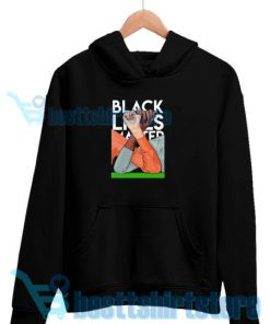Black Lives Matter Hand Hoodie Honor of BLM S-3XL