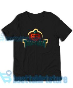 Festival Helloween Day T-Shirt Trick or Thereat S-3XL