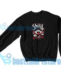Papa Boo Ghost Sweatshirt Mario and Yoshi S-3XL