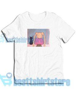 Get It Now Sailor Moon Aesthetic T-Shirt S - 3XL