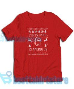 Among Us Gift Christmas T-Shirt S – 3XL