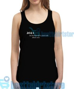 2021 Its First Rule Tank Top for Men's and Women's S - 2XL