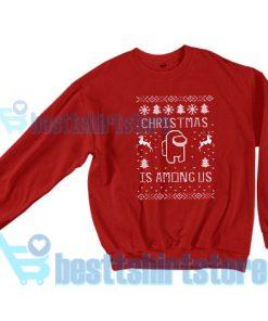 Among Us Gift Christmas Sweatshirt S – 3XL