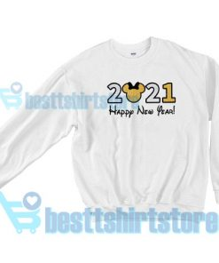 Get It Now 2021 Disney New Year's Sweatshirt S - 3XL