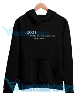 2021 Its First Rule Hoodie for Men's and Women's S - 3XL