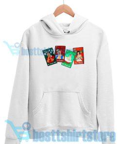Bad Bunny Christmas Loteria Hoodie S - 3XL