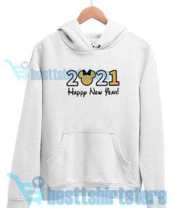 2021 Disney New Year's Hoodie S - 3XL