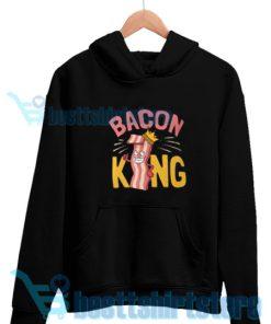 Bacon-King-Hoodie-Black