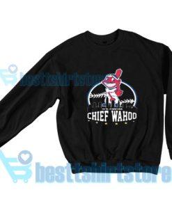 Chief-Wahoo-Sweatshirt-Black