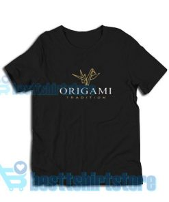 Origami-Paper-Bird-T-Shirt