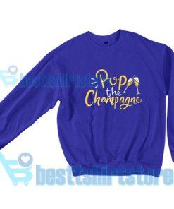 Pop-The-Champagne-Sweatshirt-Blue-navy