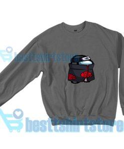 Among-Us-Ninja-Crossover-Sweatshirt-Grey