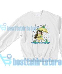 Best-Frog-Girl-Sweatshirt-White