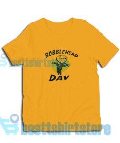 Bobblehead-Day-T-Shirt-Orange