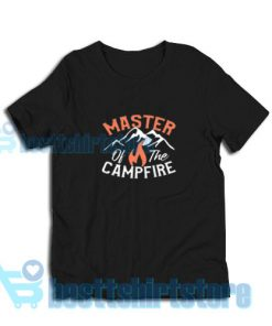 Master-Of-The-Campfire-T-Shirt-Black