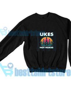 Ukes-Not-Nukes-Sweatshirt